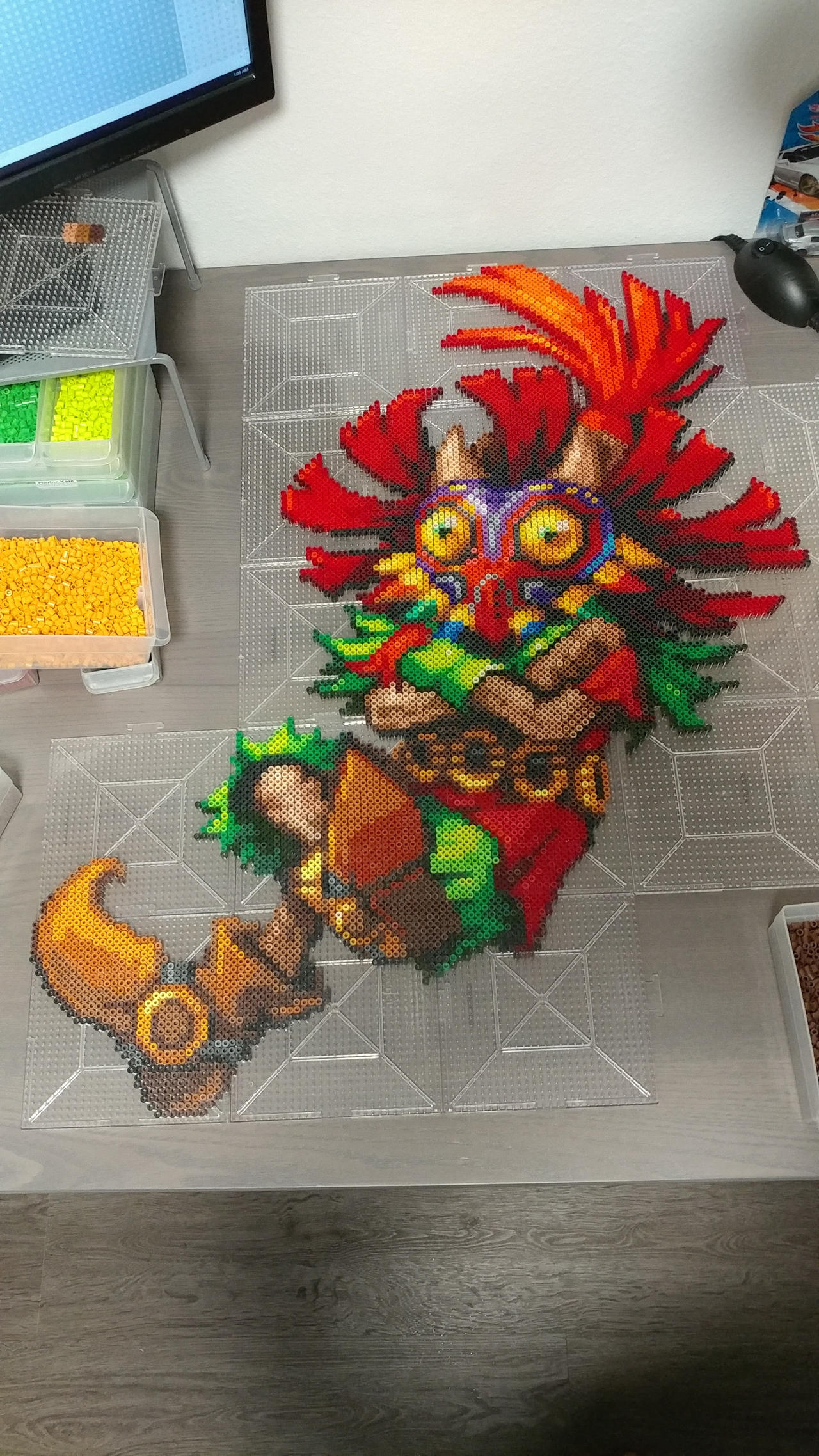 Hyrule Warrior Skullkid by Abysswolf by Bgoodfinger