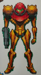 Samus Aran by KillPanzer by Bgoodfinger