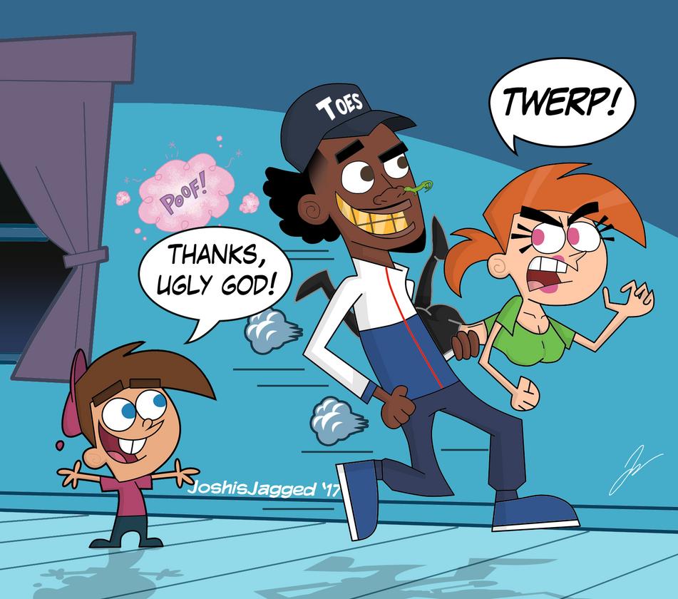 Thanks ugly god by joshisjagged on deviantart - 6ix9ine cartoon wallpaper ...