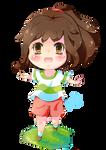 Chihiro 'spirited away' Chibi