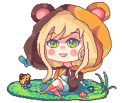 Pixel gif Commission (animated gif) by KyouKaraa