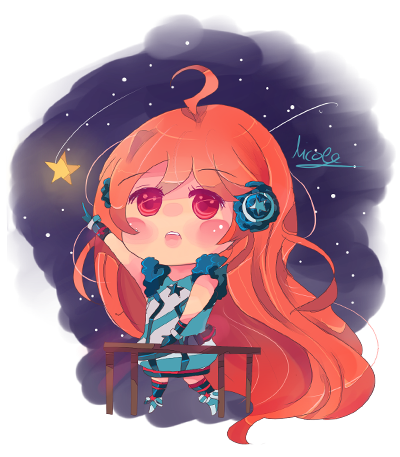 Miki Vocaloid Chibi by...