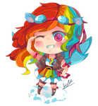 MLP Rainbow Dash human Chibi