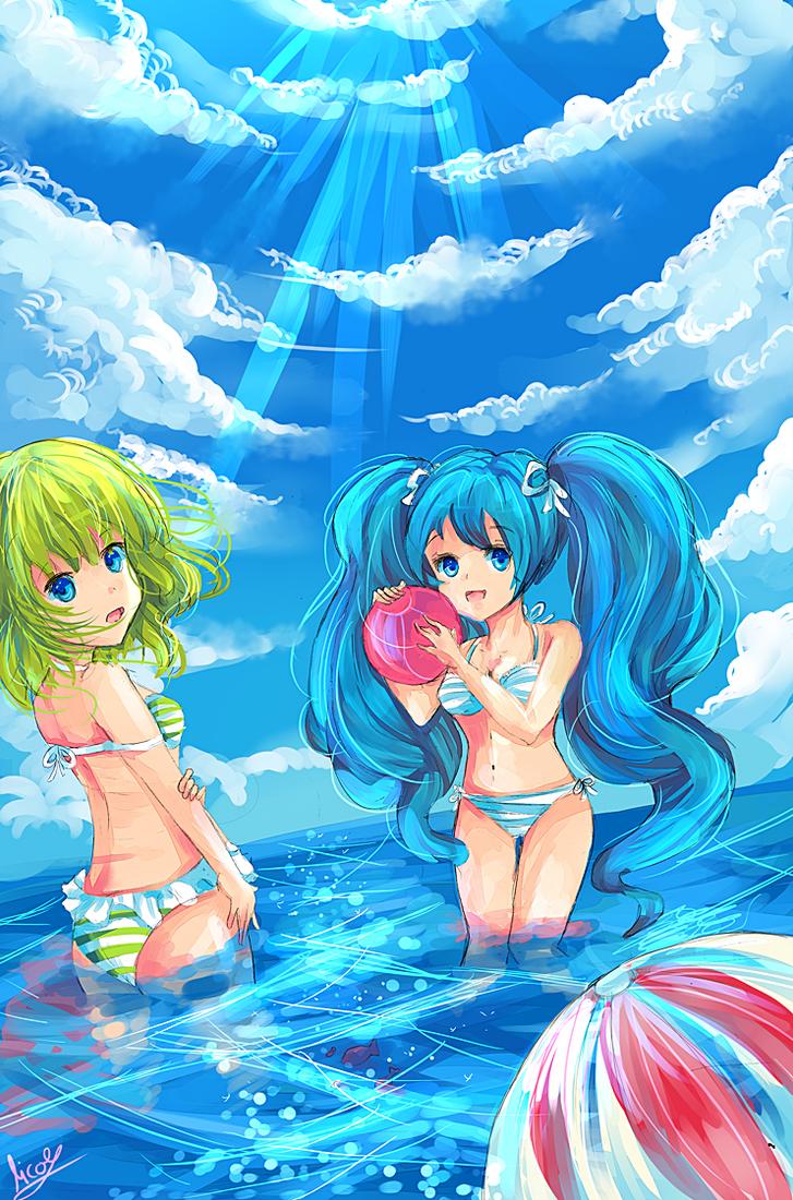 Vocaloid Summer by KyouKaraa