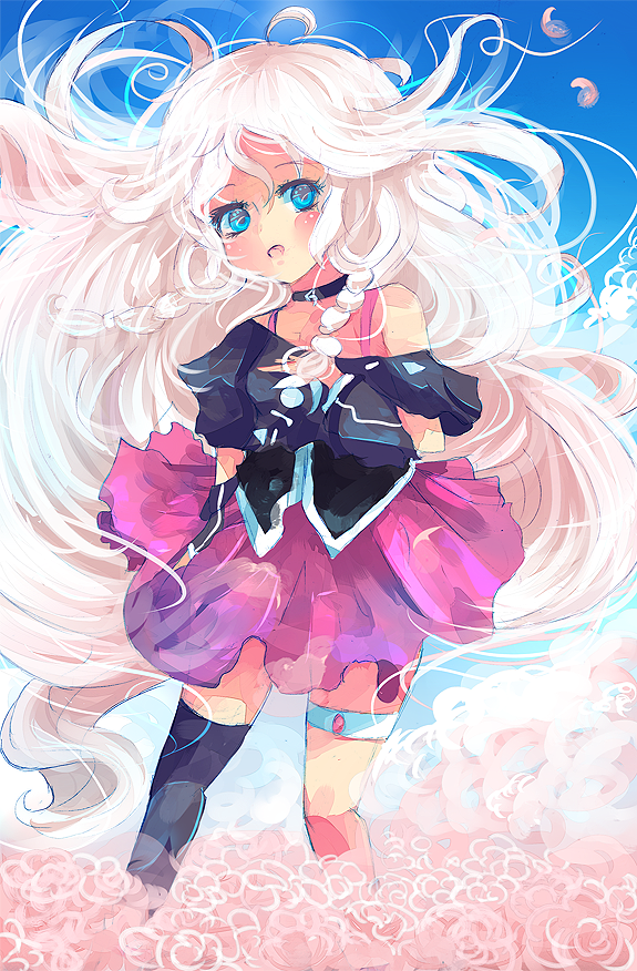IA vocaloid 'blooming flower' by KyouKaraa