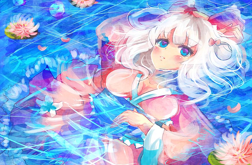 Kyori Water Lilies by KyouKaraa