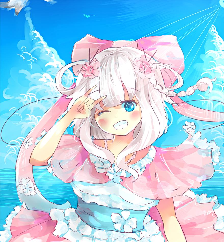 Kyori (moe-Style) sketch by KyouKaraa