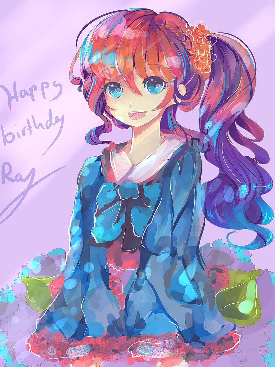 HBD Raayzel ~ *sketch* by KyouKaraa