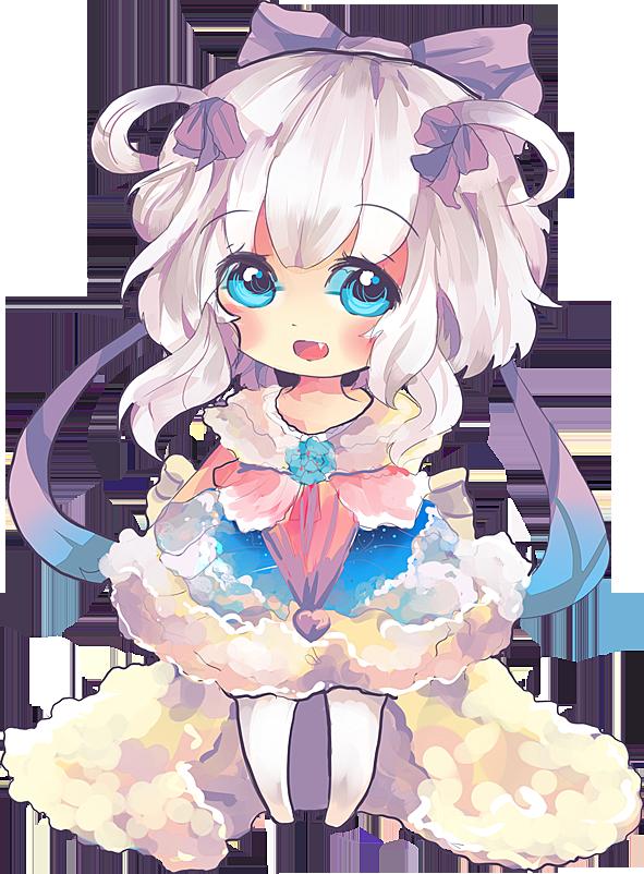 Kyori Chibi (new outfit) by KyouKaraa