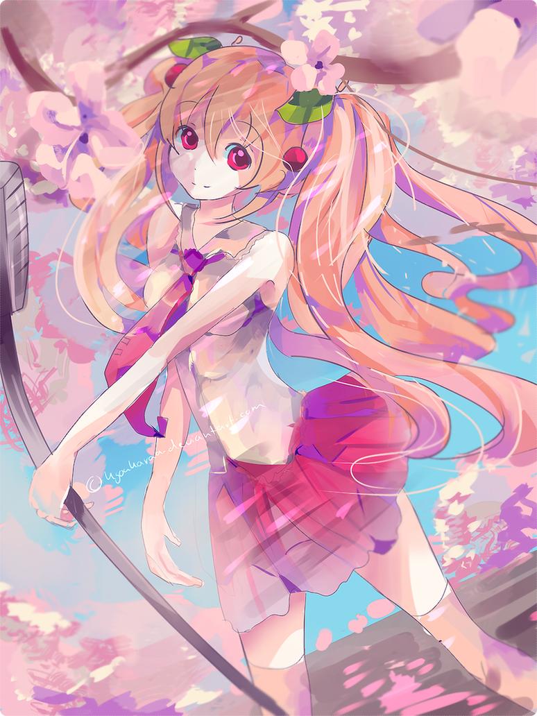 Sakura Miku by KyouKaraa