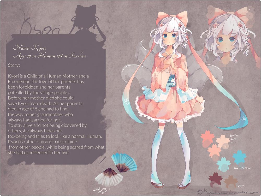 Kyori Reference by KyouKaraa