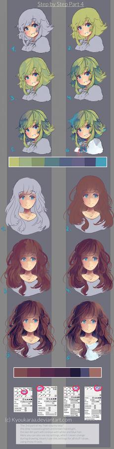Step by Step Hair Part 3