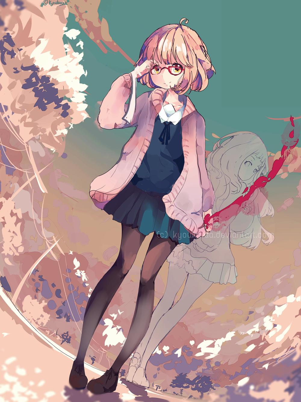 anime girls kyoukai no - photo #23