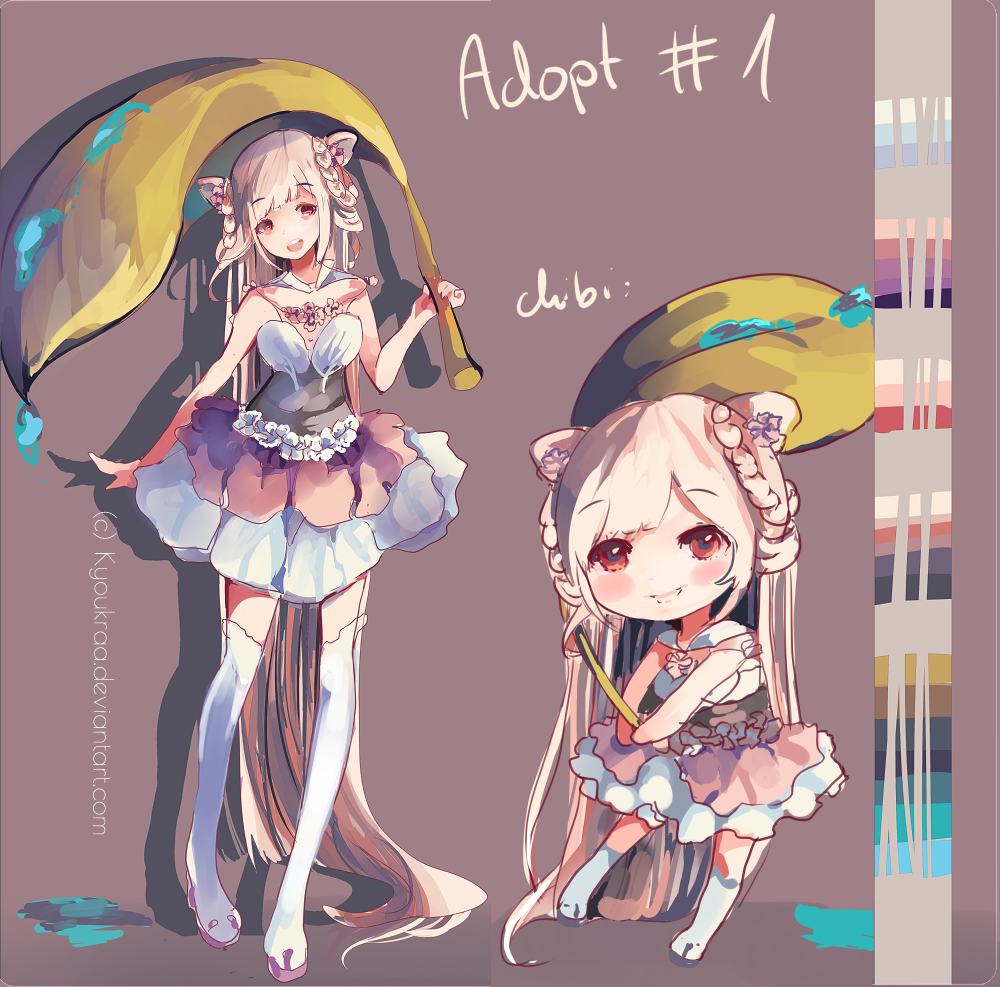 Adoptable Auction (CLOSED) by KyouKaraa