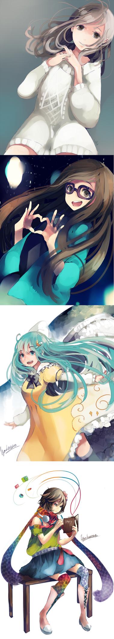 Drawing batch 1 by KyouKaraa