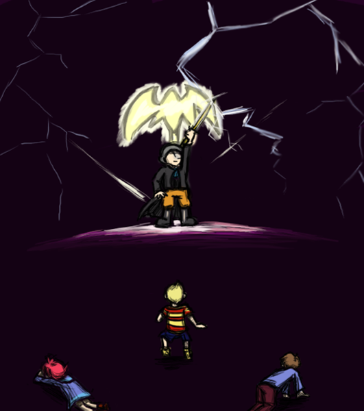 SPOILERS Mother 3 Final Battle by Magic-Cake-Woman on DeviantArt