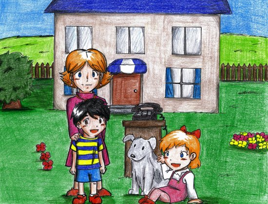 Earthbound 100 Themes Family by Magic Cake Woman on DeviantArt