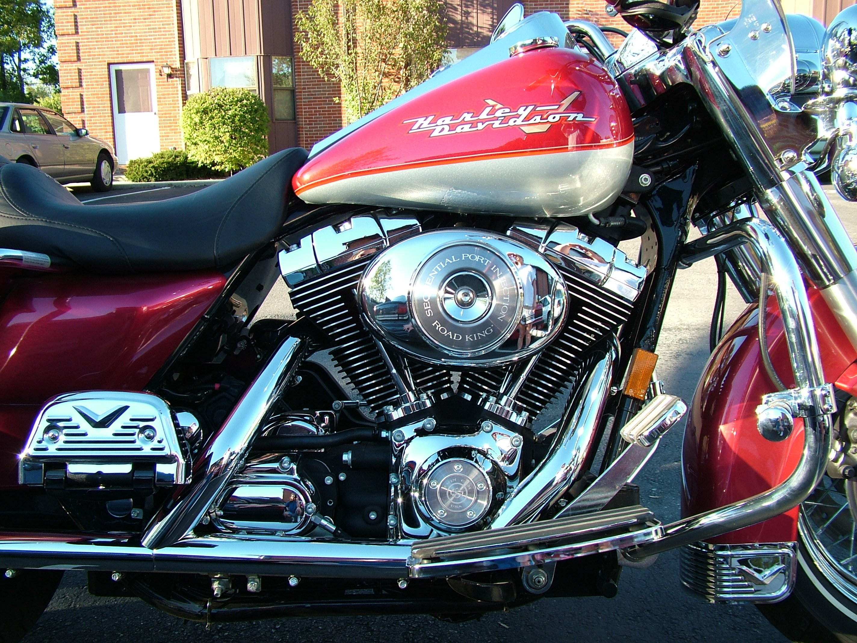 Harley Road King Engine by DocX-Stock