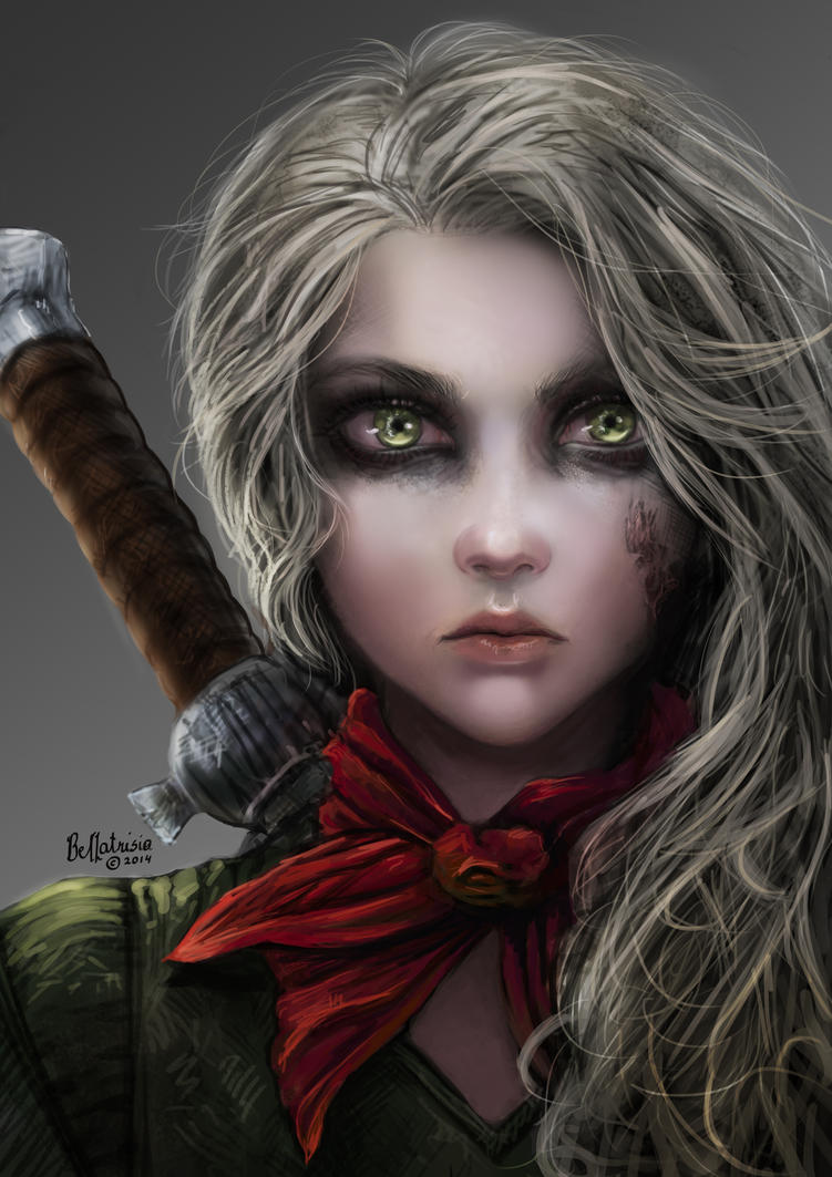 Ciri by Elvanlin