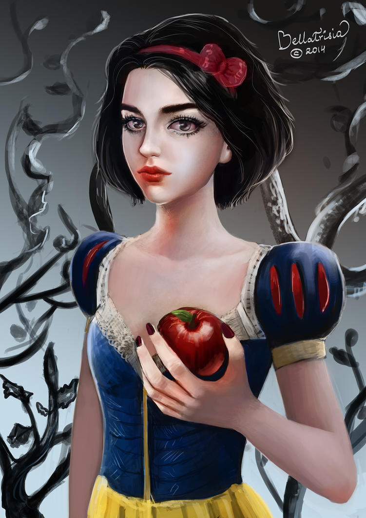 Snow White by Elvanlin
