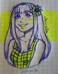 Math class doodle by chiicsilla