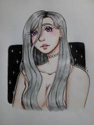 Starry eyes by chiicsilla