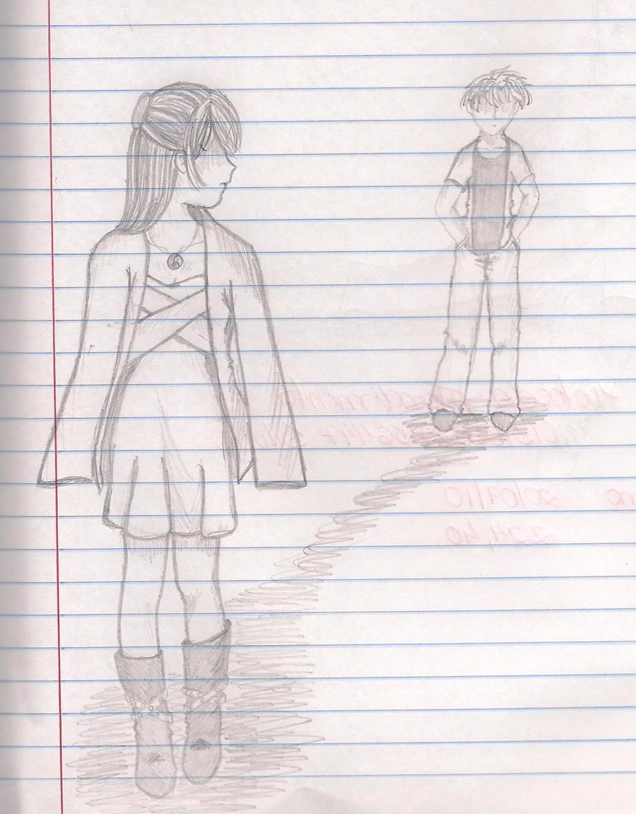 Boy and Girl - Sketch. by jademclean on DeviantArt