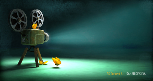 Old Projector by sahandsl