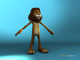 Lion by sahandsl