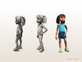 girl character 2 by sahandsl