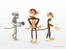 Monkey by sahandsl