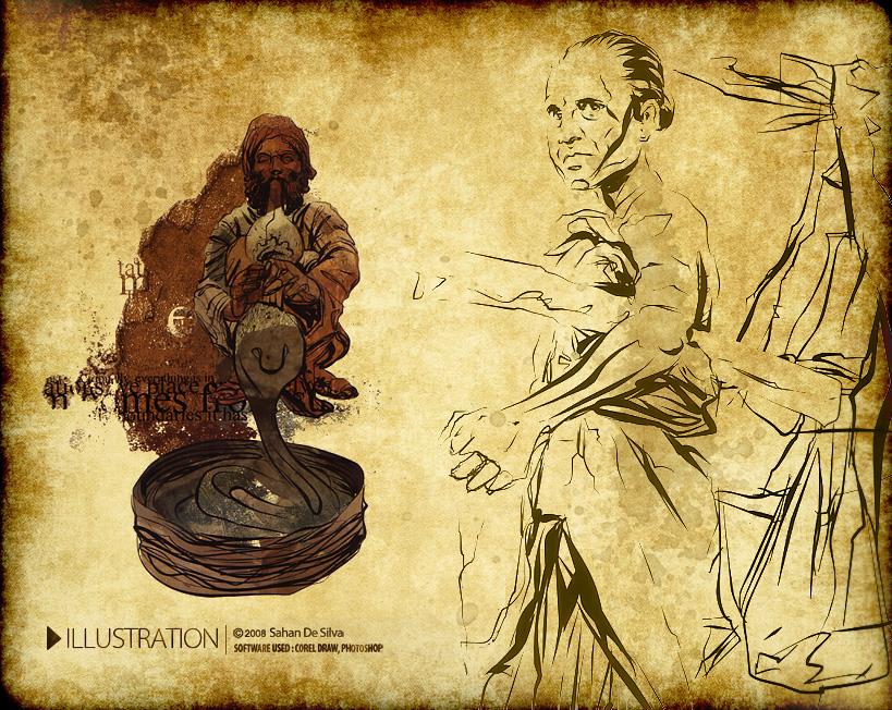 Digital book Illustration by sahandsl