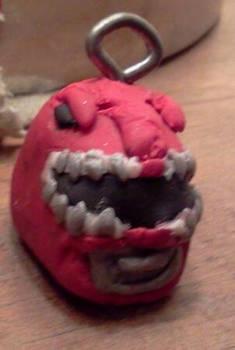 Mini Red Ranger Helmet