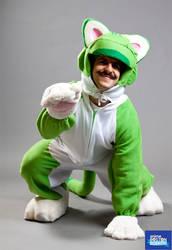 Cat Luigi-Anime Boston 2014