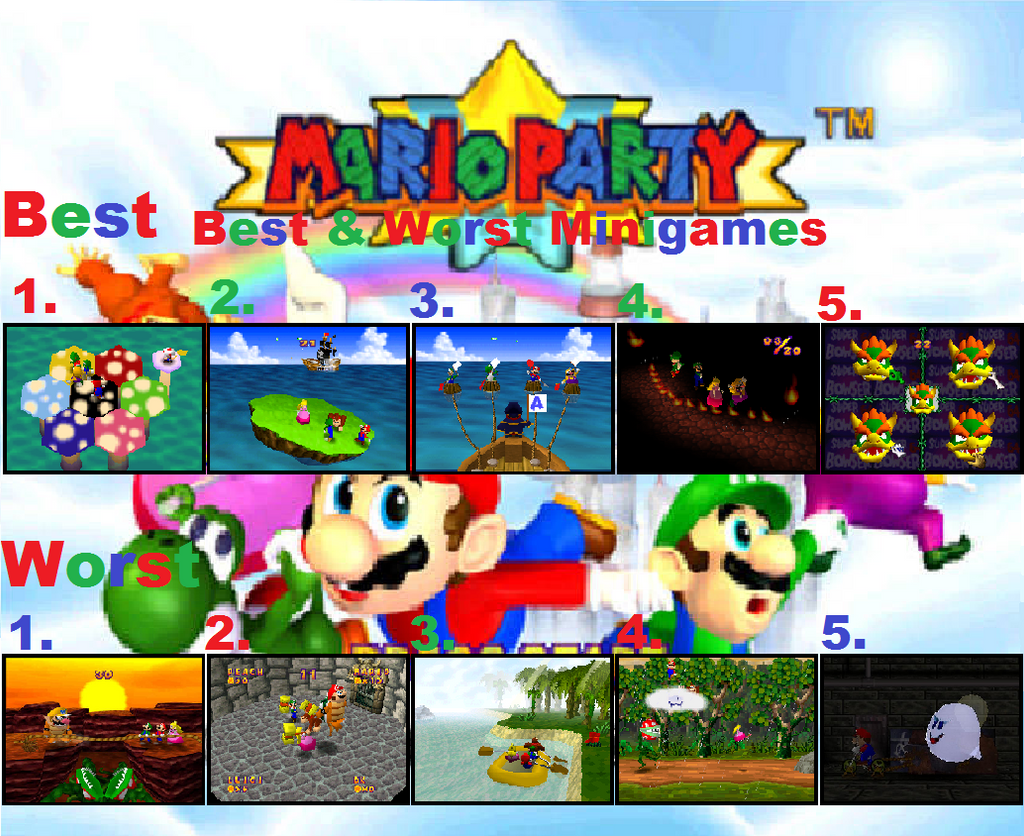 Mario Party 3 is the best one for me, but that's probably biased by the fact that it's just about the only game I had of the Mario Party series when I was young. I also got 8, but it wasn't quite as enjoyable.