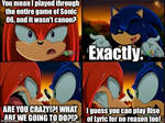Sonic Wasted So Much of my Time