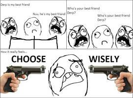 Choosing Friends by Roro102900