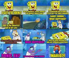 Sonic meme again.