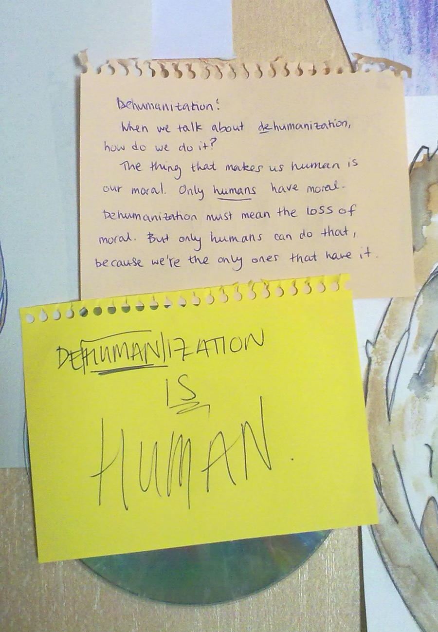 dehumanization in hunger games Hunger games compare and contrast essay prompt prompt: by comparing and contrasting the hunger games novel and film dehumanization love.