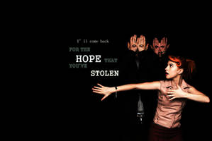 The Hope That You've Stolen by AmyHeadInTheClouds