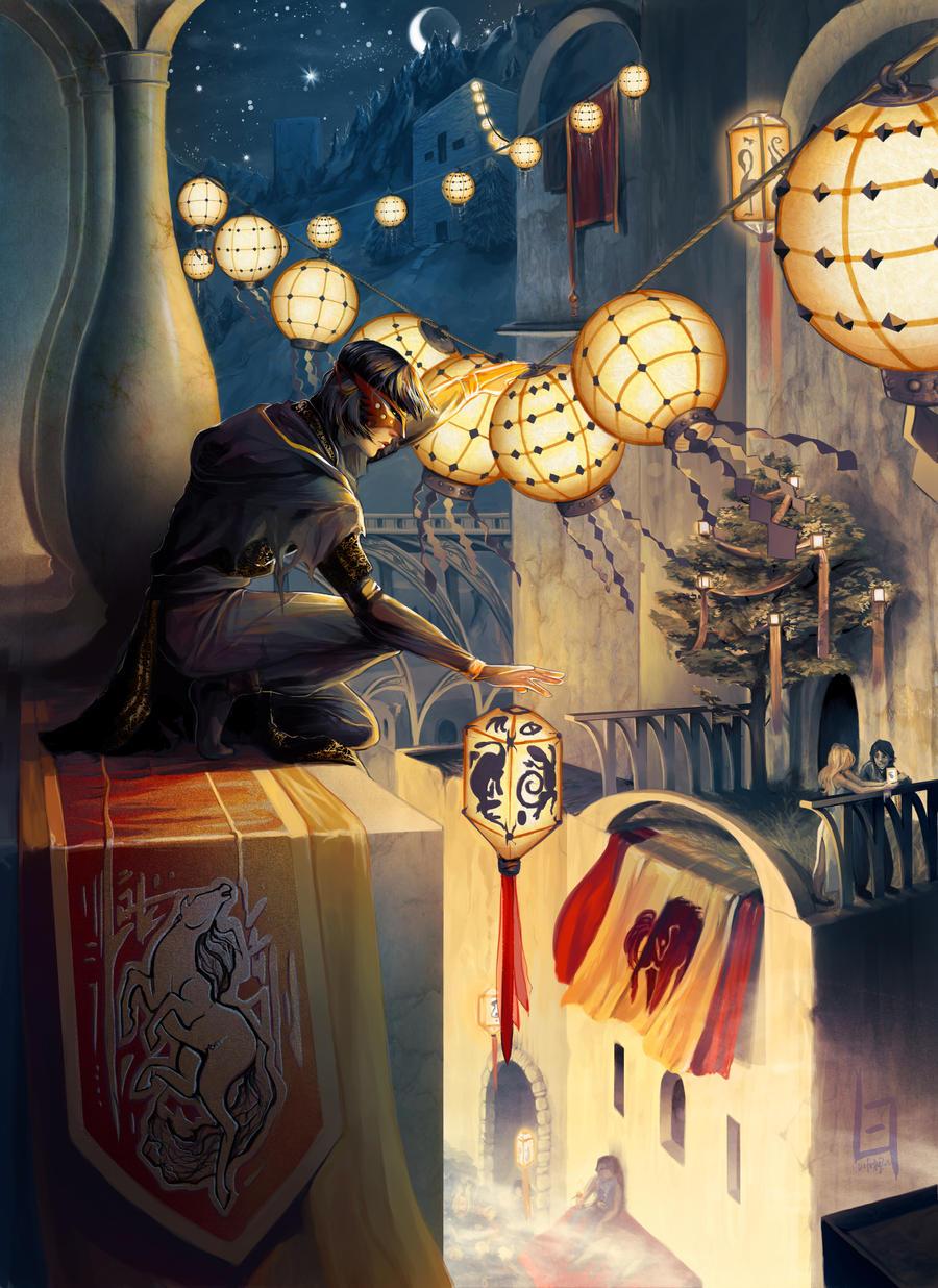 Lantern festival by eksafael on deviantart for Porte 7th sea