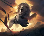 Hand of the Gods: Nemean Lion by Eksafael