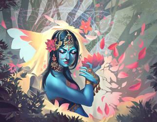 Hand of the Gods: Flourish by Eksafael