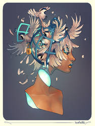 Birdbrain by Eksafael