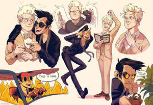 Good Omens: This is Fine.