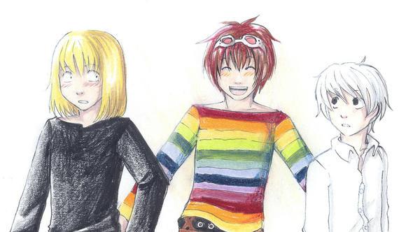 Matt the colourist-MMN by Lapis-Razuri