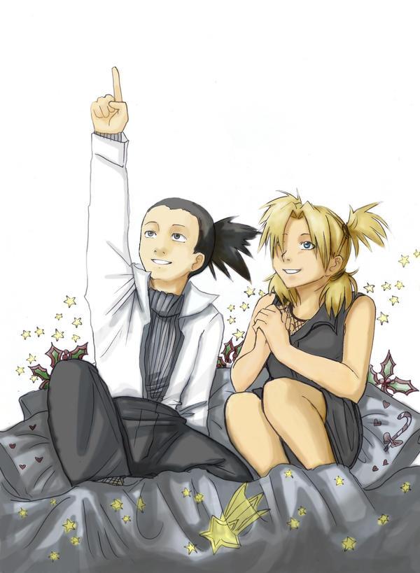 Shikatema-First Star by Razuri-chan