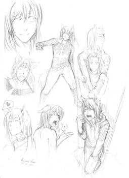 Canis Maior sketches by Razurichan