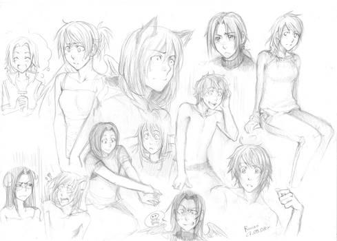 sketches 27.09 FBTW by Razurichan