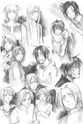 Negative emotions by Razurichan